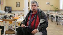 «Vivo en el albergue, desayuno en Cáritas y como en la Cocina Económica: así todos los días»