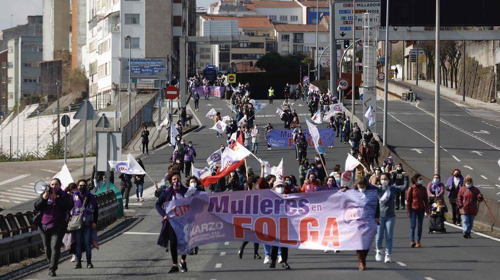 Movilización en Santiago