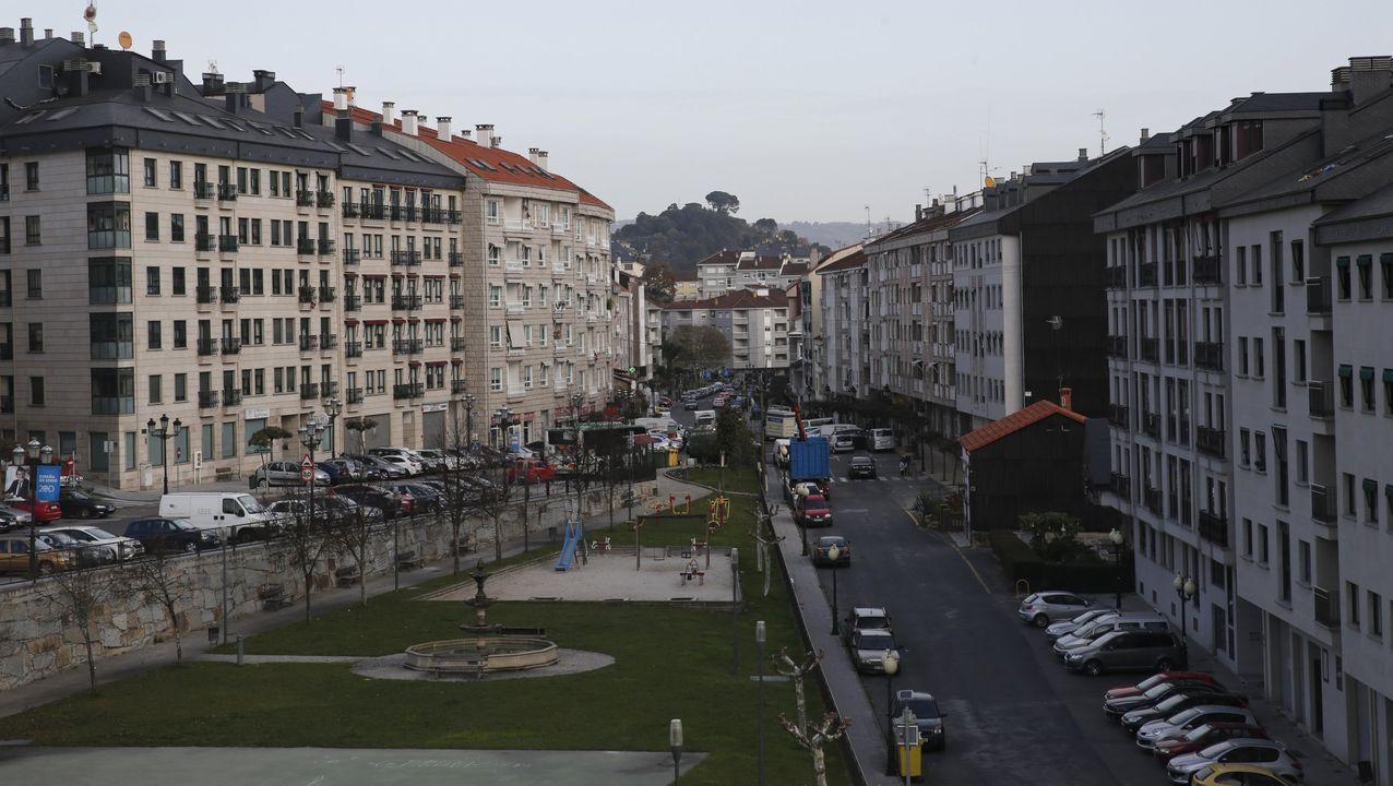 Terrazas en la capital ourensana