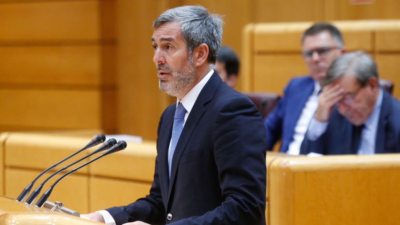 El senador de Coalición Canaria, Fernando Clavijo