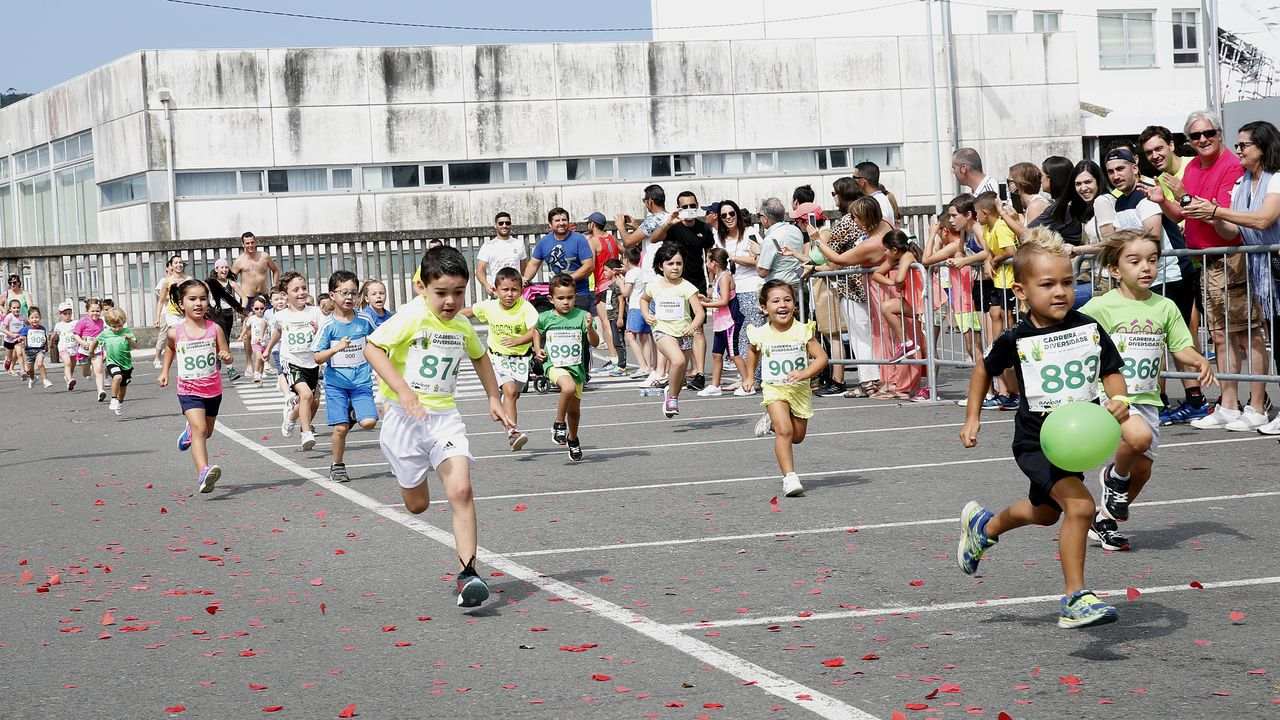 ¡Estas son las mejores imágenes de la Carreira pola Diversidade 2019!.Último encuentro del Boiro en Preferente.