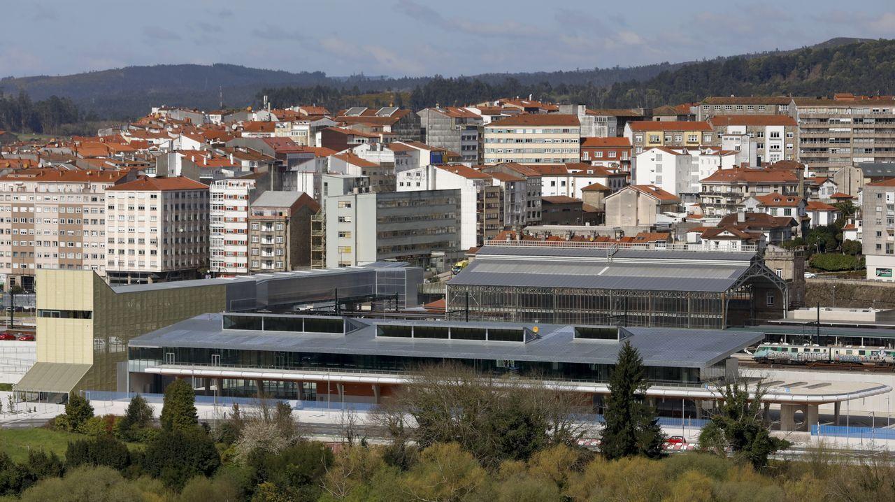 Recreación de la fuura Intermodal de Lugo, una de las novedades del proyectos de presupuestos del 2021