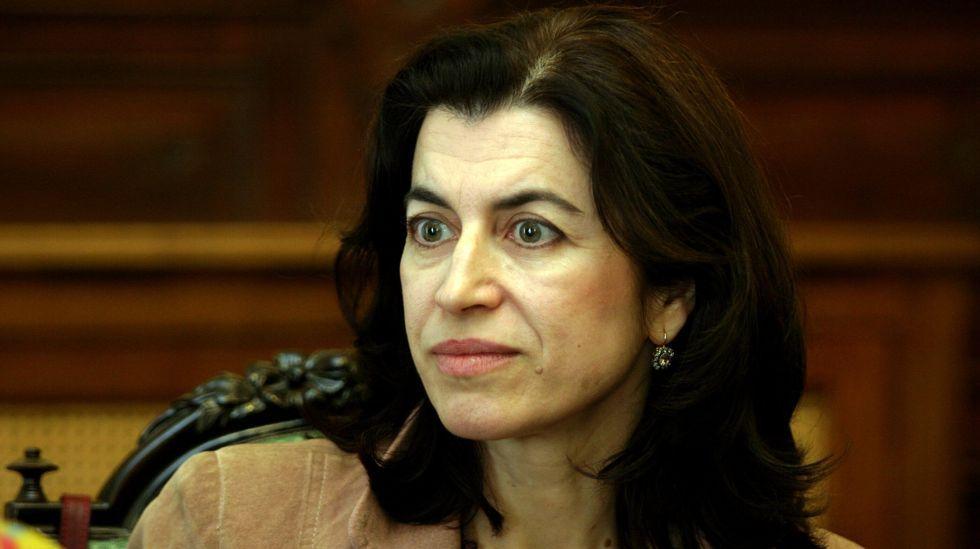 La actriz María Barcala