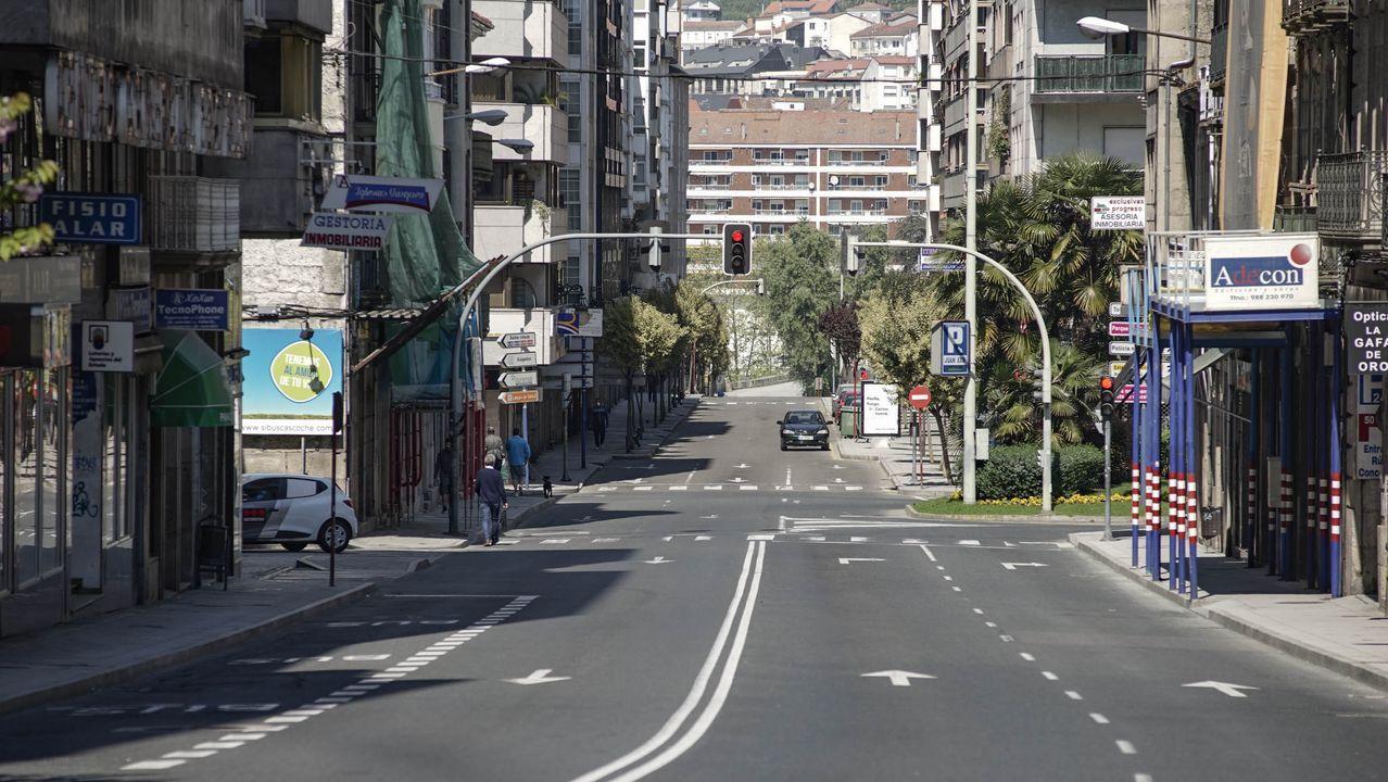 Las calles están, en general, muy vacías desde que se decretó el estado de alarma