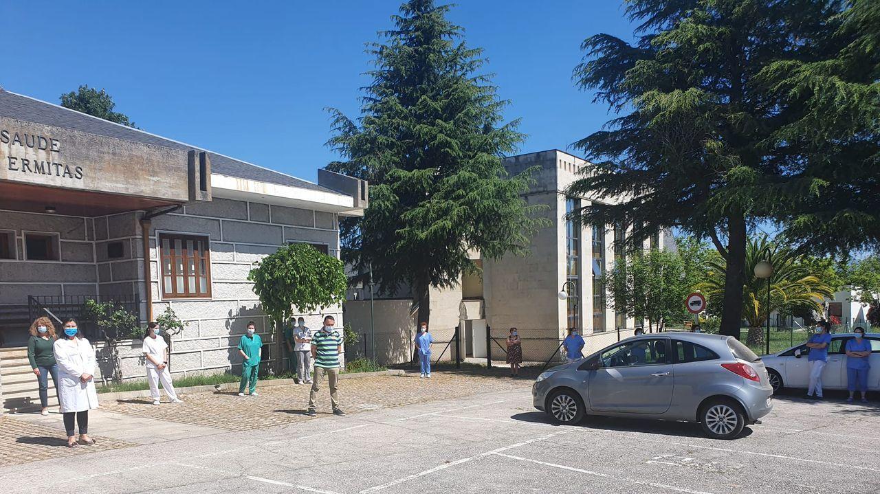 El homenaje también tuvo lugar en Manzaneda