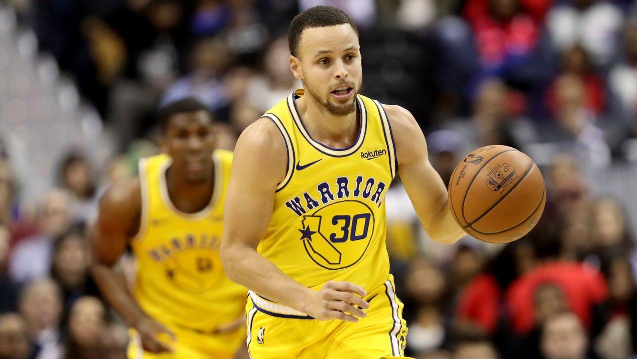 Stephen Curry (base) es el líder del equipo y el estandarte de los Warriors que apostaron por él en el draft del 2009.
