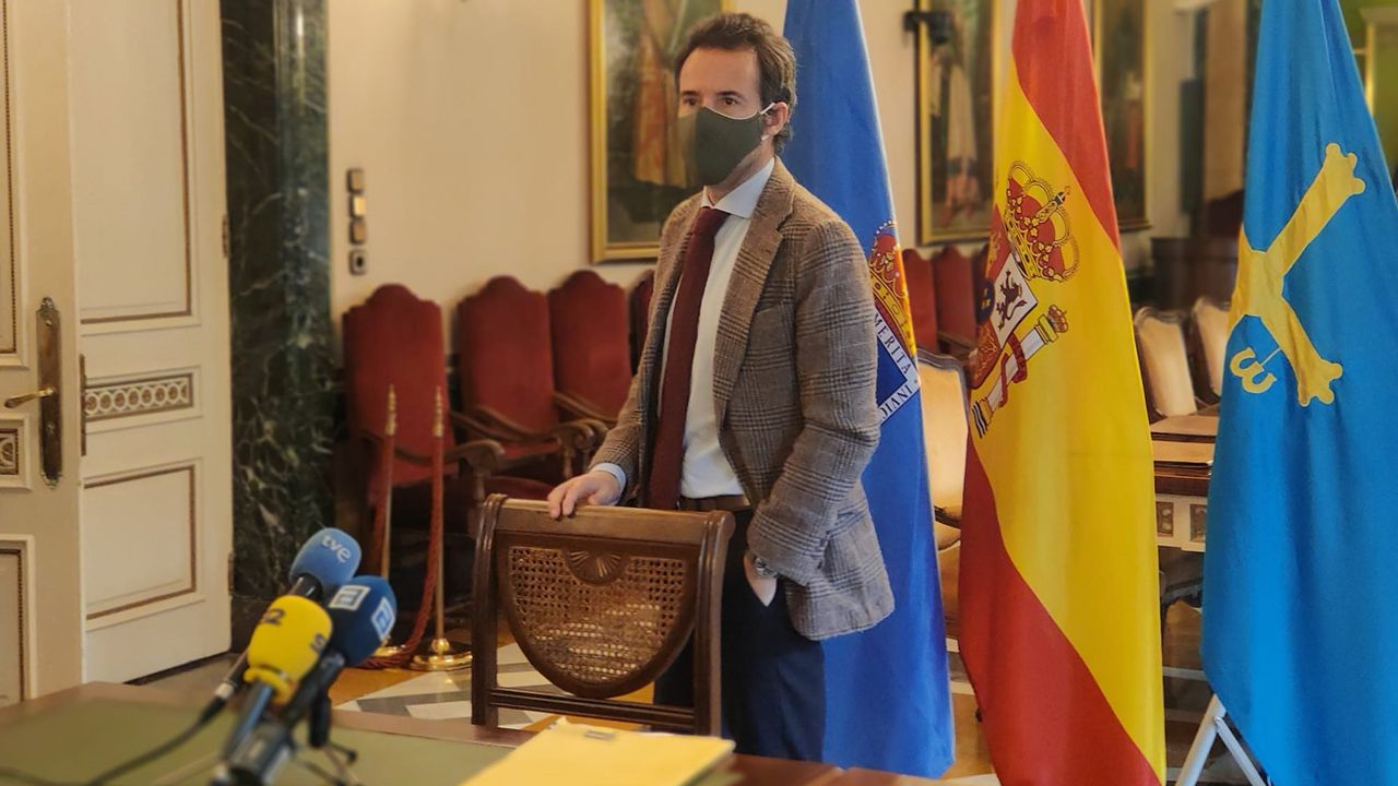 El concejal de Urbanismo y primer teniente de Alcalde de Oviedo, Ignacio Cuesta