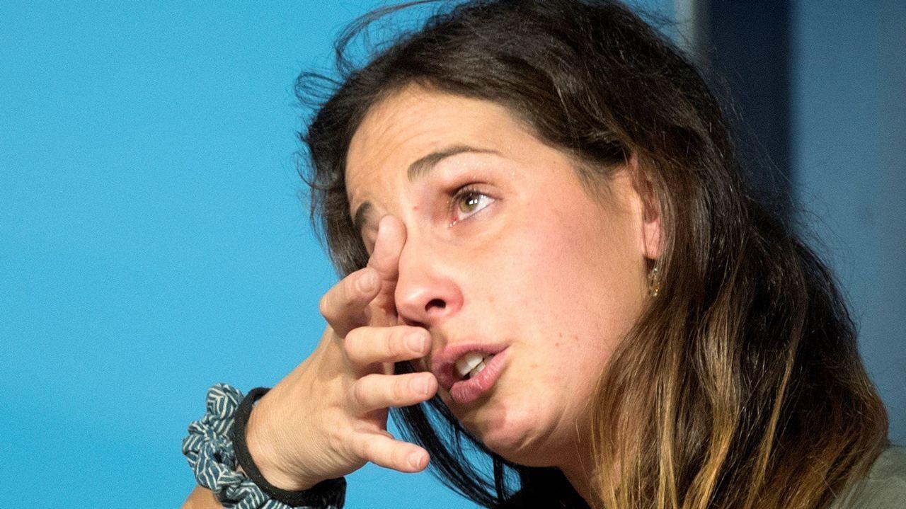 Charla entre María Vilas y Sofía Toro en una nueva entrega de «Triunfadoras».Tatiana Calderón posa junto al Alfa Romeo Sauber F1