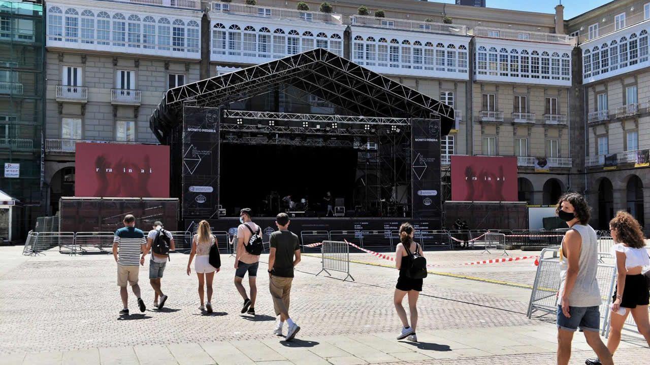 A Coruña comienza una nueva etapa con restricciones