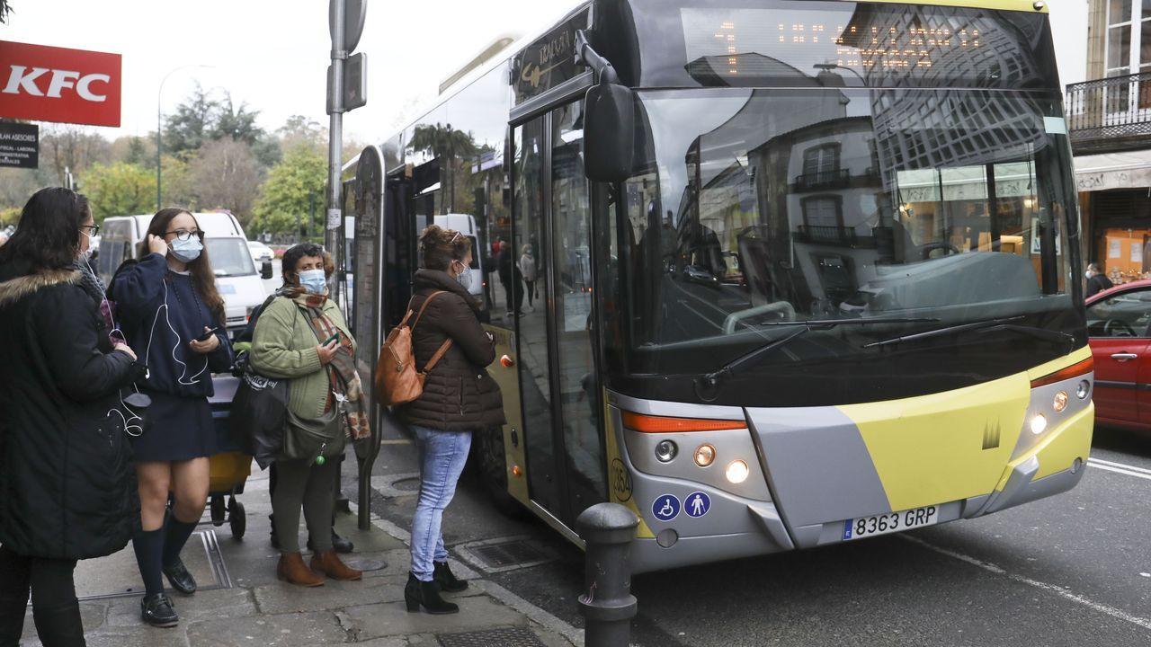Transporte urbano a la baja.Juicio por el caso Malaya, en el 2013.