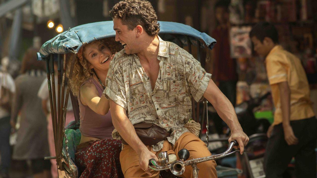 Madrid se vuelca con el estreno de «La casa de papel».El actor galés Richard Brake, que interpretó al Rey de la Noche en dos temporadas de «Juego de tronos»