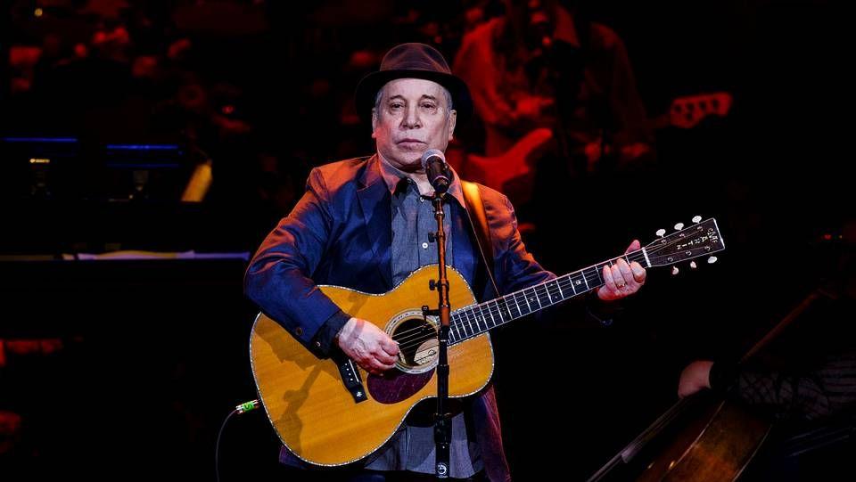 Paul Simon durante un concierto el pasado 17 de abril