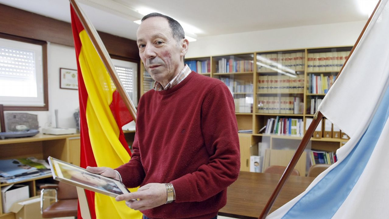 Manuel Prado López, alcalde de Beariz.