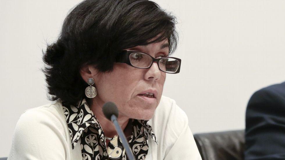La alcaldesa de Avilés, Mariví Monteserín.La jueza Pilar de Lara