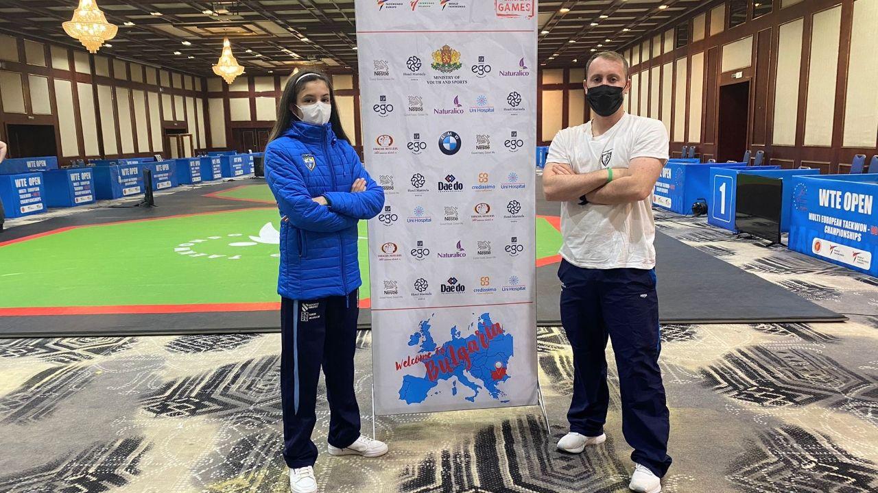 Noa Romero y Pablo Carou ya conocieron las instalaciones donde se desarrollará la competición