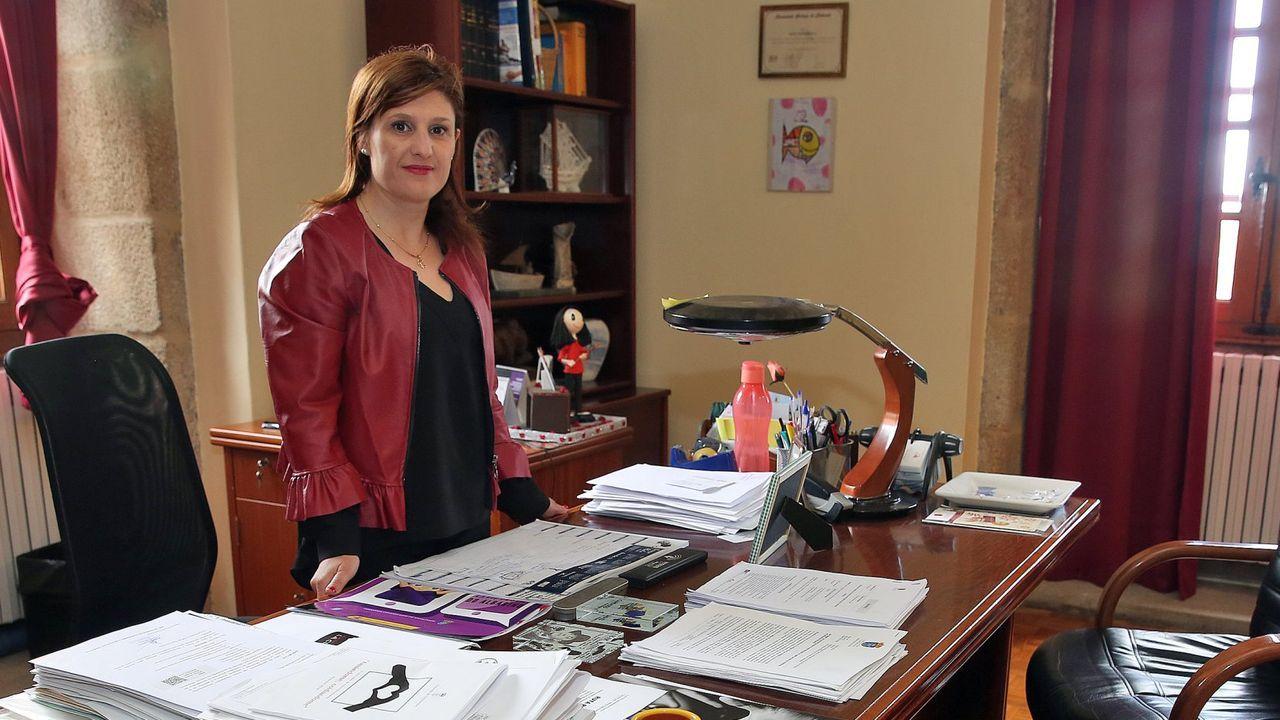 Cambados con Sara.La vicepresidenta del Gobierno Teresa Ribera, en una imagen de julio del año 2020