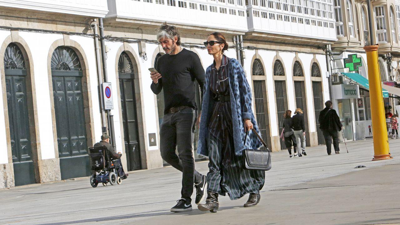 La modelo Eugenia Silva y su marido Alfonso de Borbón.