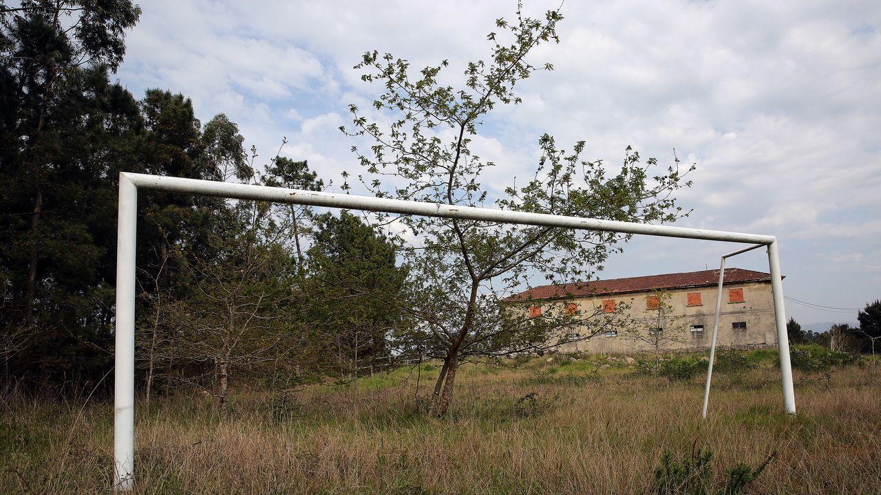 Uno de los micros fue colocado en una portería de fútbol, en Vilanova, y facilitó la localización de la droga