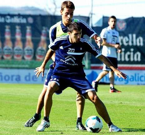 Toni podría ser el lateral izquierdo del conjunto celeste en el estreno con el Espanyol.