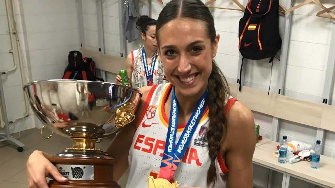 TAMARA ABALDE | Campeona de Europa de Baloncesto