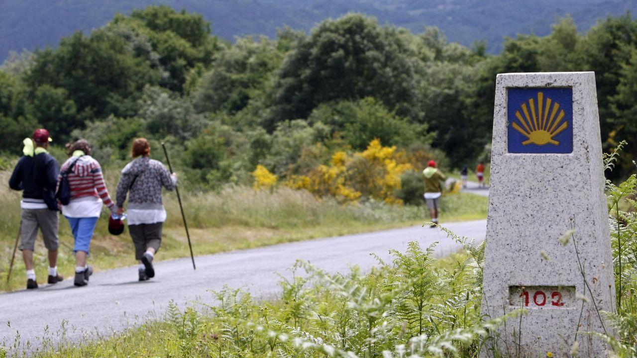Un recorrido por el Camino de Invierno a su paso por el municipio de O Saviñao
