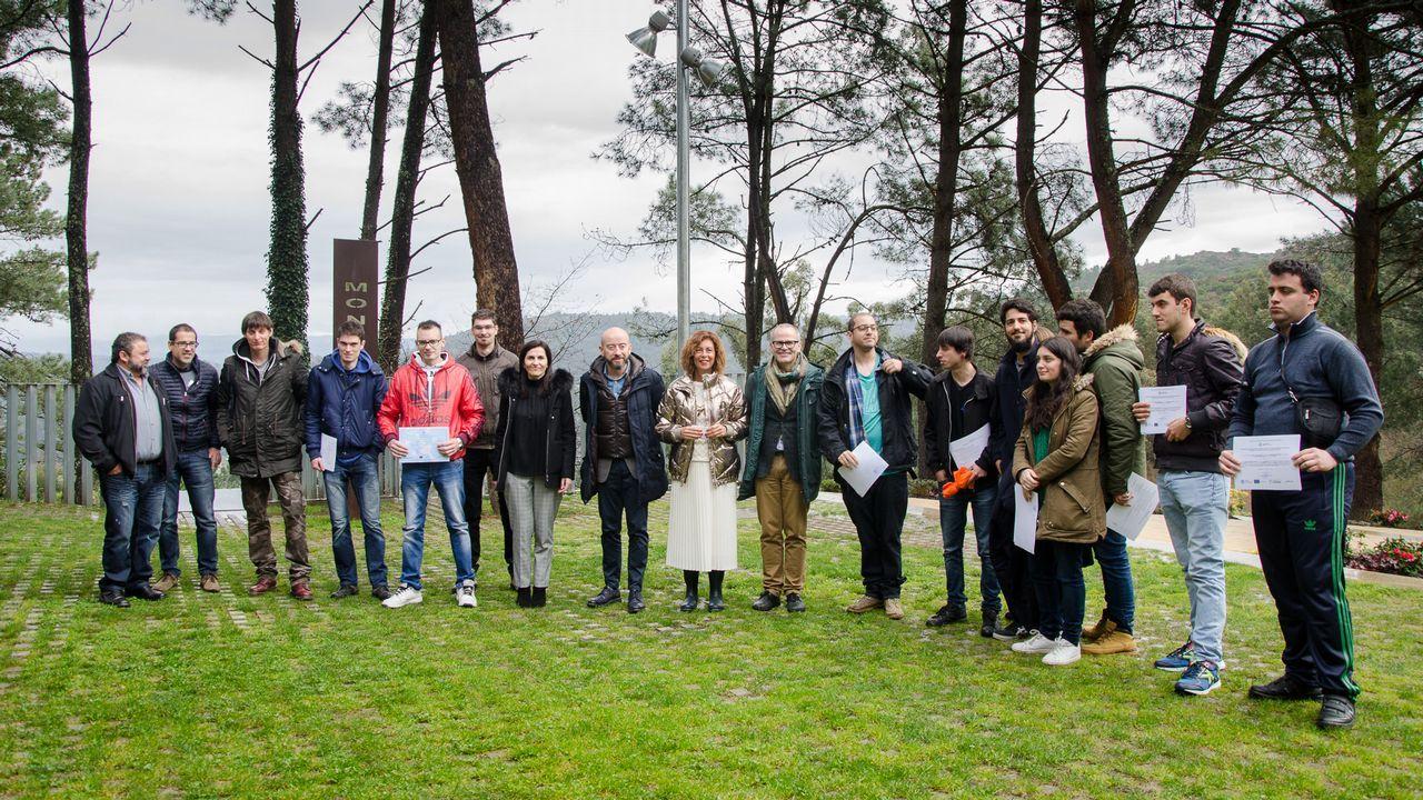 De la huerta al laboratorio: así se lucha contra la plaga que preocupa en Galicia.Parque Purificación Tomás