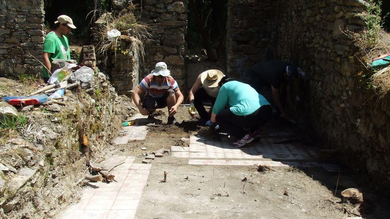 Una investigación arqueológica en el escenario de la batalla de Repil en el 2016. Los arqueólogos que realizaron este estudio participarán en el proyecto sobre el Valle de los Caídos