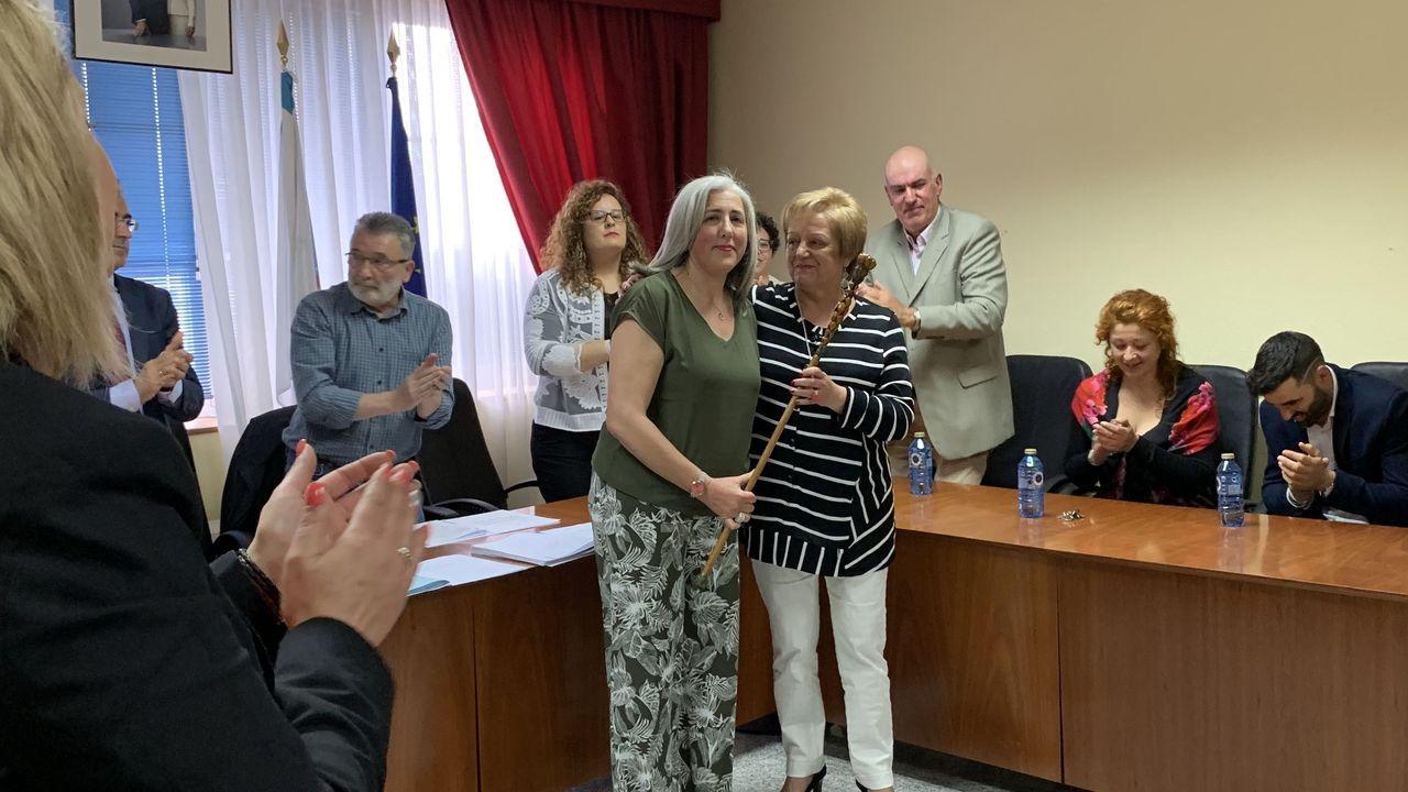 José Tomé se hace con el control del PSOE de Lugo para gobernar la Diputación.Toma de posesión de Lara Méndez como alcaldesa de Vigo