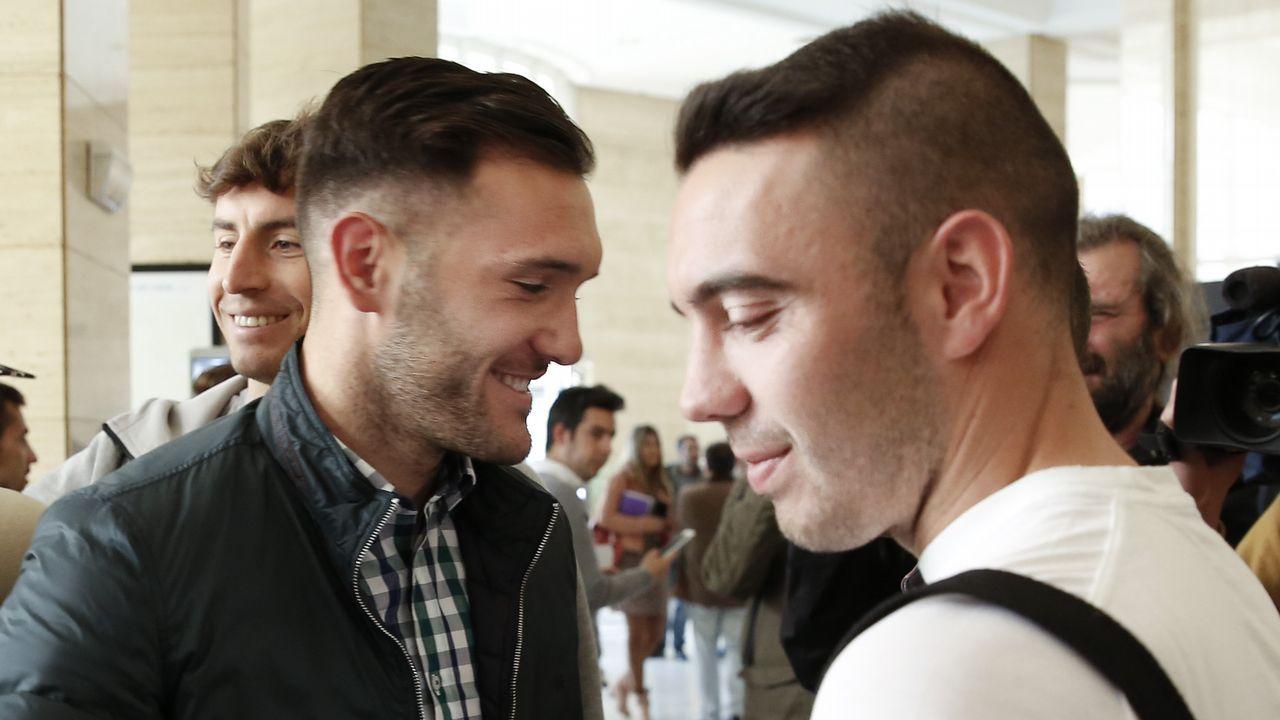 Lucas Pérez y Iago Aspas protagonistas del derbi gallego