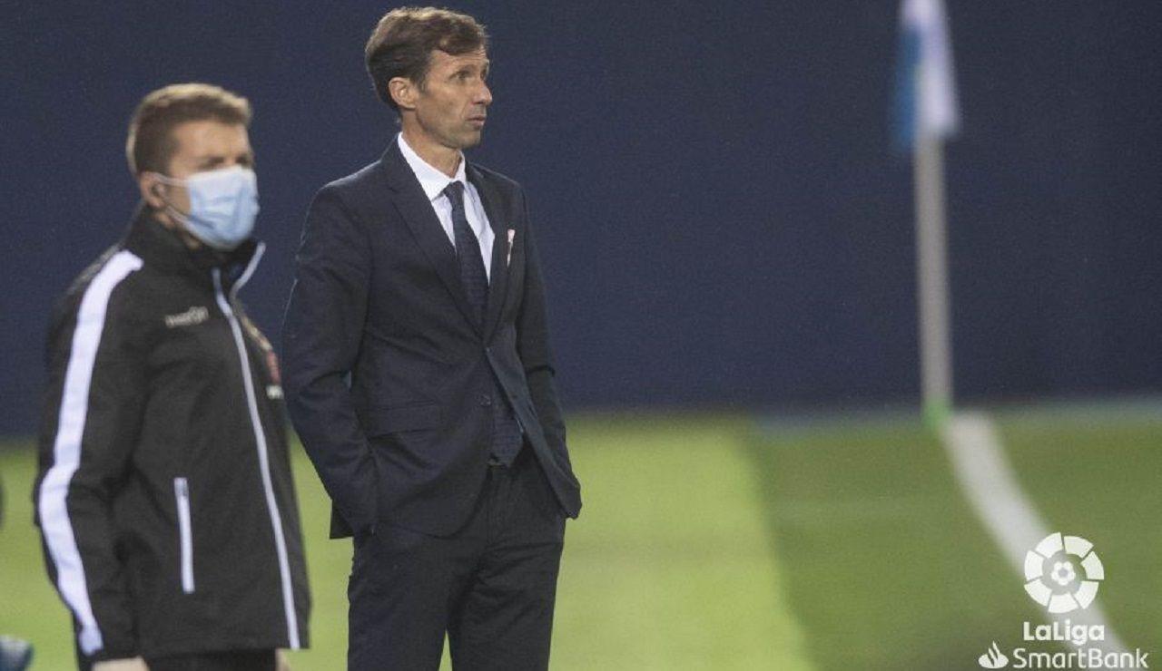 Ziganda Leganes Real Oviedo Butarque.Ziganda, durante el encuentro
