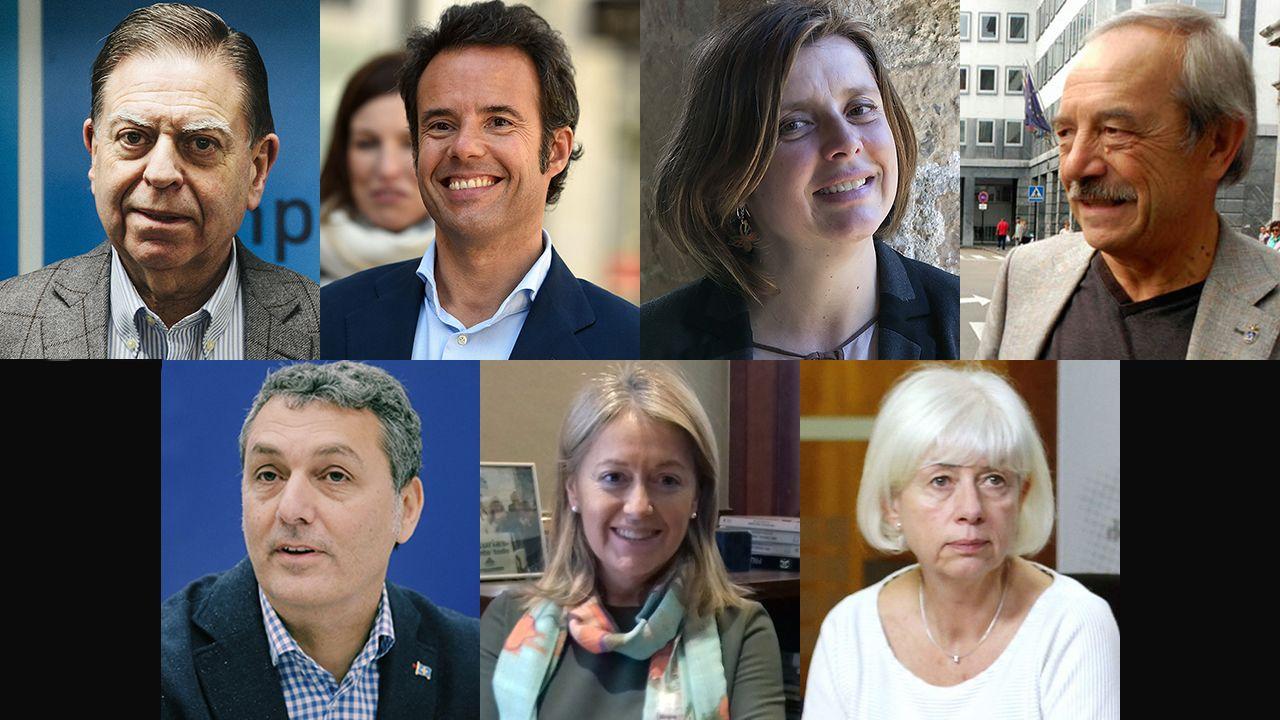 escuelas de infantil, centros de 0 a 3 años,.Los siete candidatos a la alcaldía de Oviedo