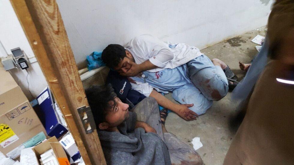 Bombardean un hospital de Médicos Sin Fronteras en Afganistán.La actividad se desarrolló en Os Remedios.
