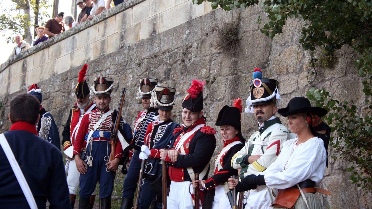 En la imagen de archivo, una visita teatralizada al castillo de San Felipe