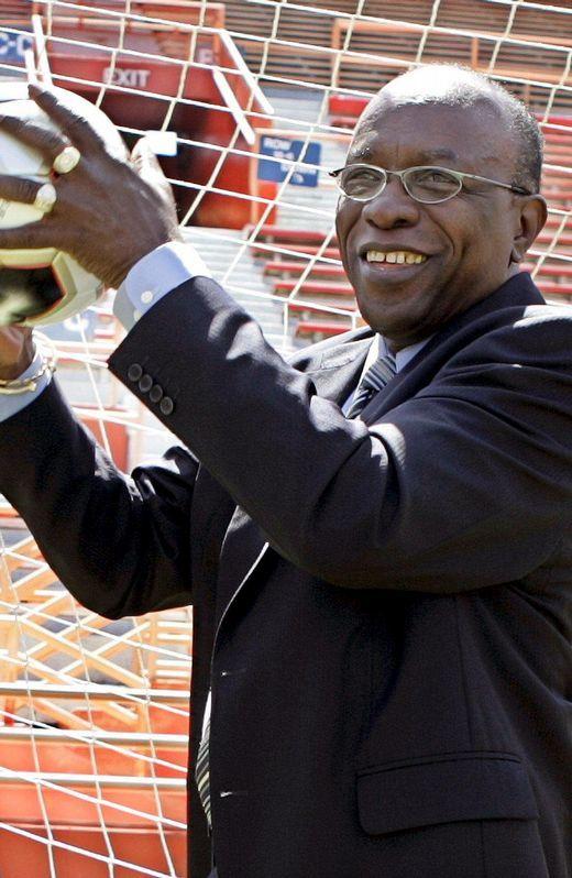 El presidente de la Concacaf Jack Austin