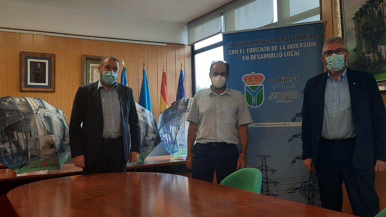 huerta.Imagen del consejero delegado de Copasa, José Luis Suárez