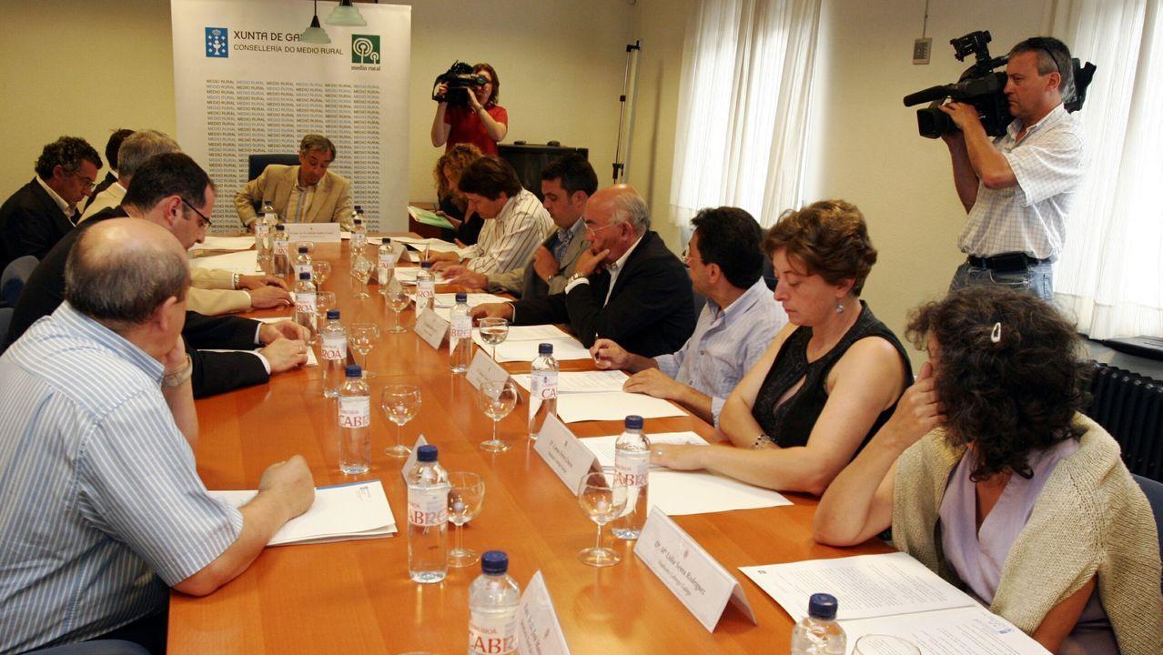 Imagen de archivo de la constitución del Consello Agrario en el 2006