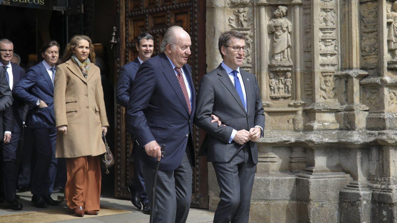 Juan Carlos I recibió en el 2018 el título de Embajador de Honor del Camino de Santiago