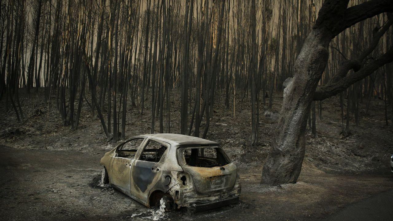 El incendio de Pedrógão, hace dos años, fue el más grande en la historia de Portugal