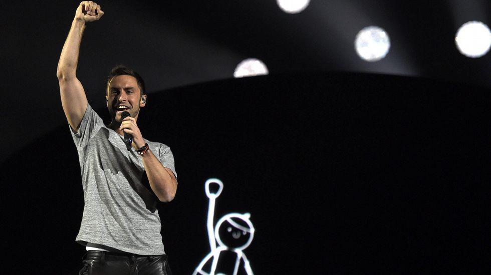 Mans Zelmerlow, de Suecia, es el gran favorito para ganar Eurovisión.