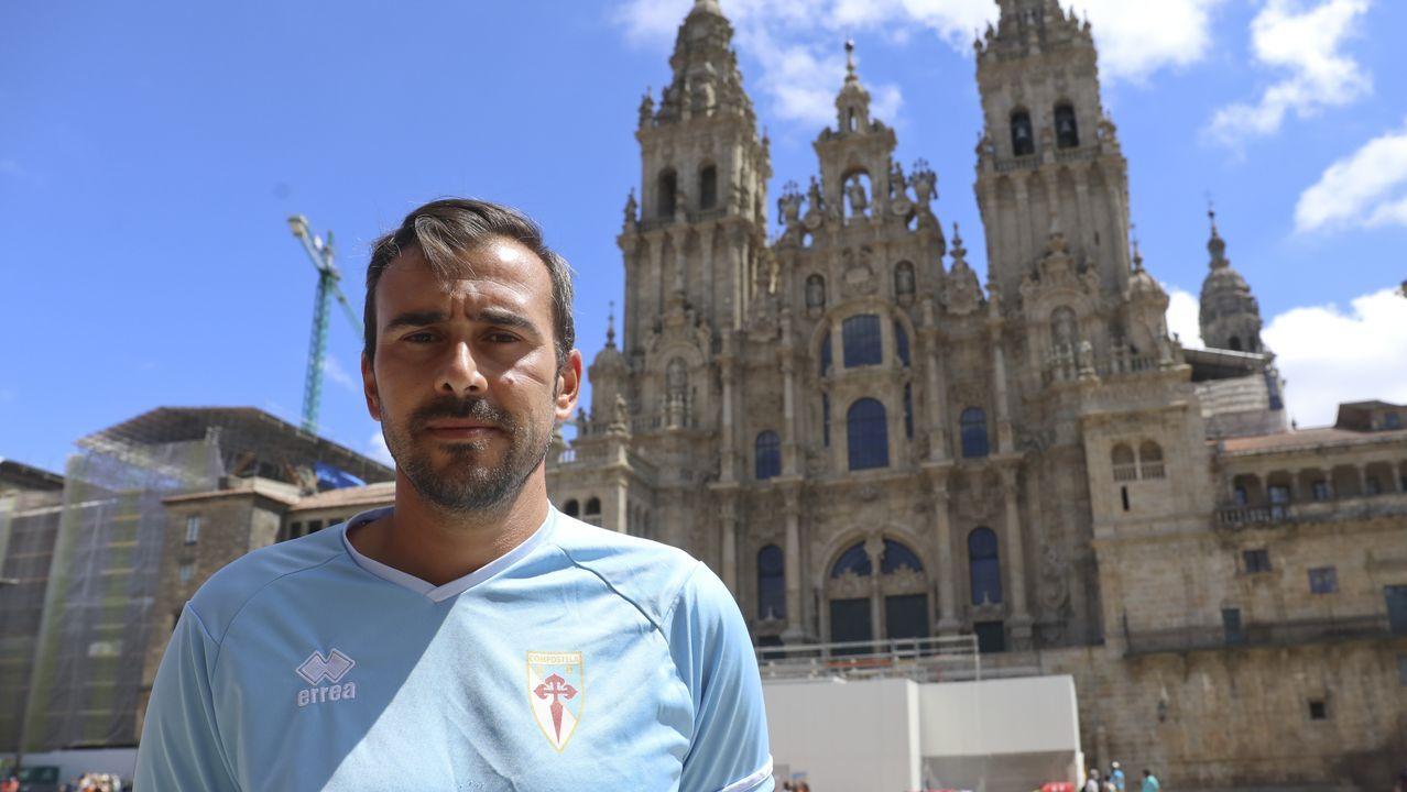 Todas las imágenes del Compostela-Barco