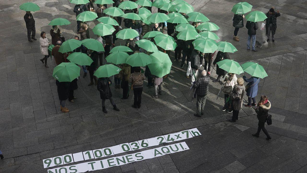 Imagen de la conmemoración del Día de Lucha contra el Cáncer del 2018