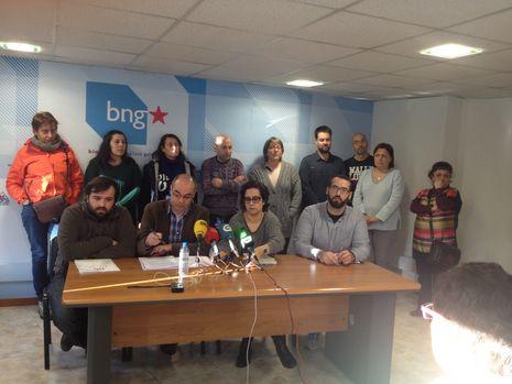 Reunión de Jorquera y Veira con los representantes de la plantilla de HP