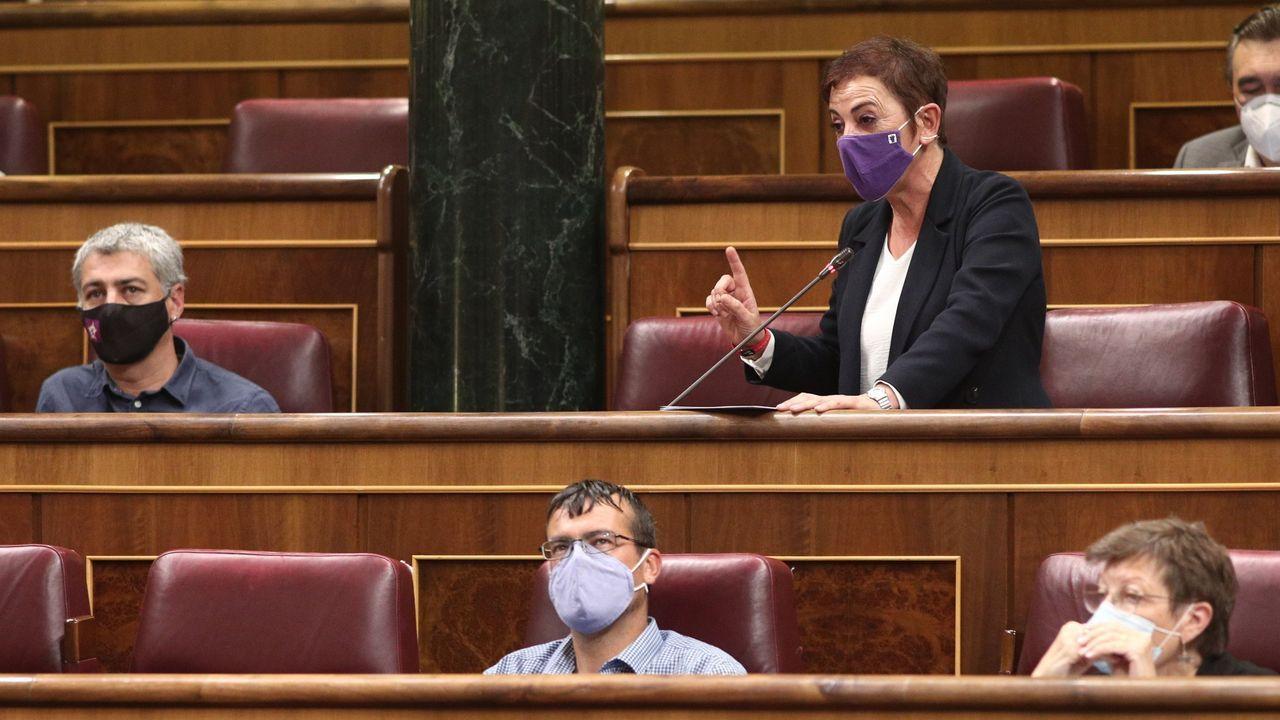 La histórica dirigente etarra Soledad Iparraguirre, Anboto, en el juicio