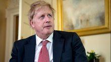 Boris Johnson, en su primera aparición tras salir del hospital el pasado 12 de abril