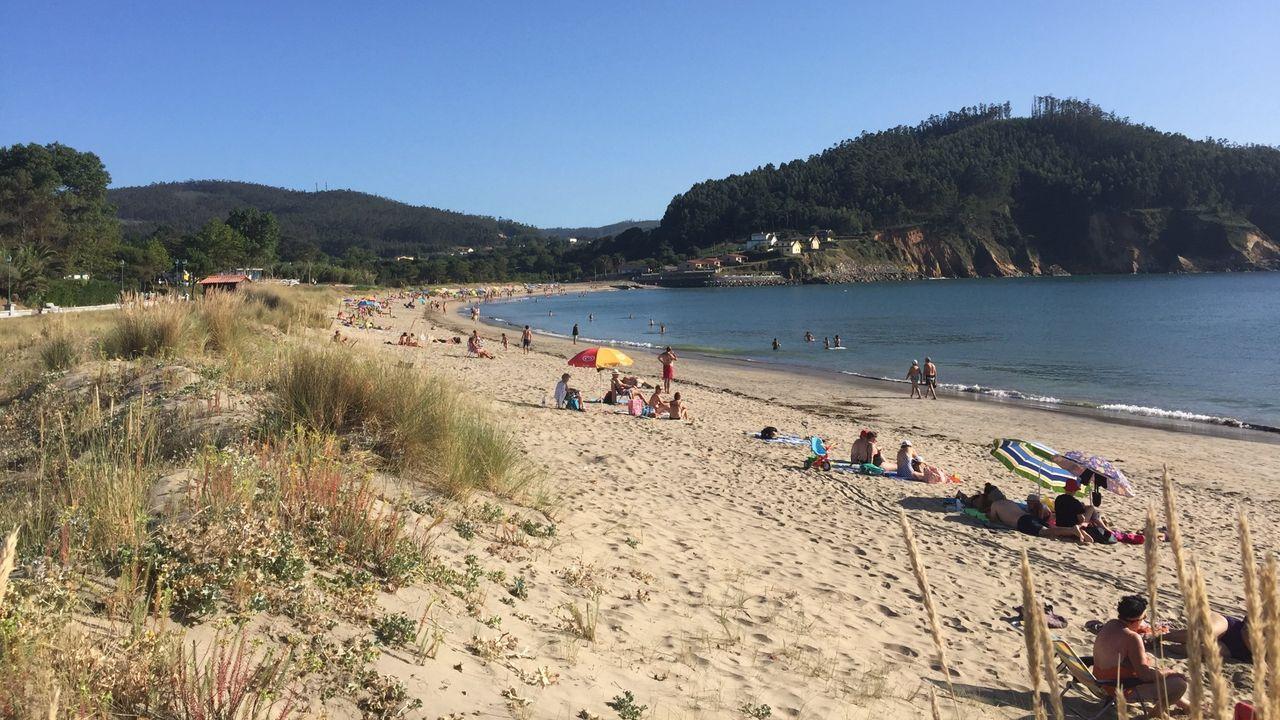 Obras de la A-54 en el límite entre Lugo y A Coruña