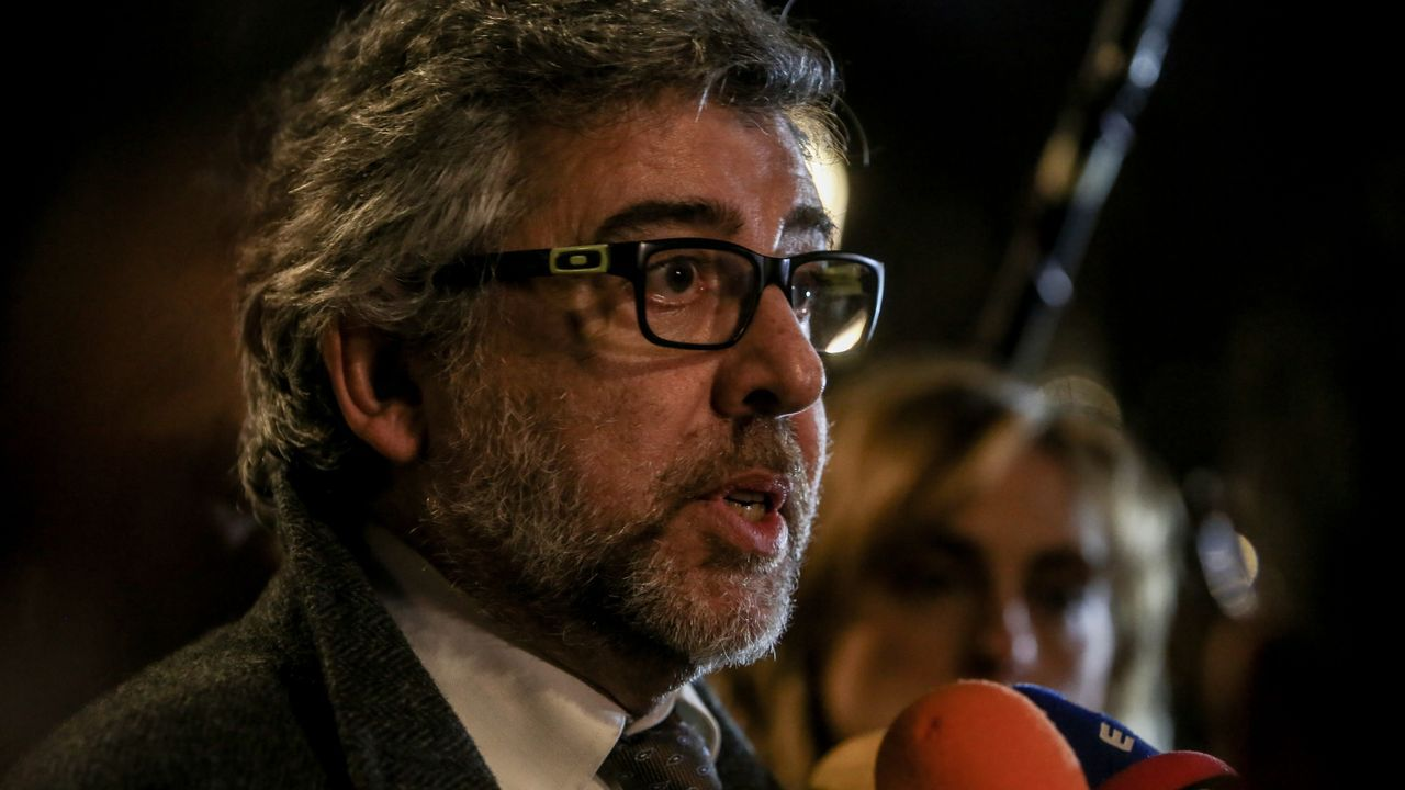 Jordi Pina es el abogado de los ahora condenados Jordi Sánchez, Jordi Turull y Josep Rull