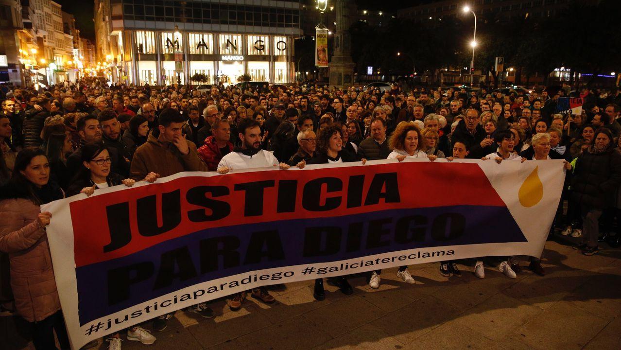 Concentración en el Obelisco pidiendo que se esclarezcael asesinato de Diego Bello en Filipinas