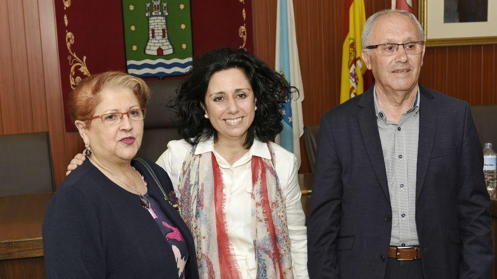 Cee. Alcaldesa, Margarita Lamela (PSOE)