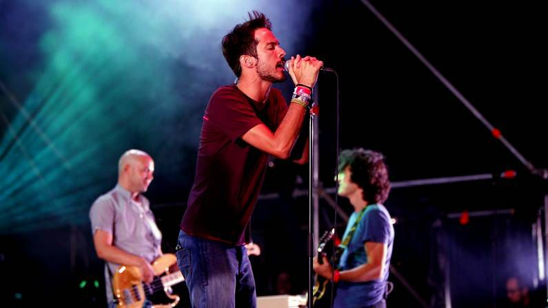 Vetusta Morla en su concierto en Santiago en el 2011