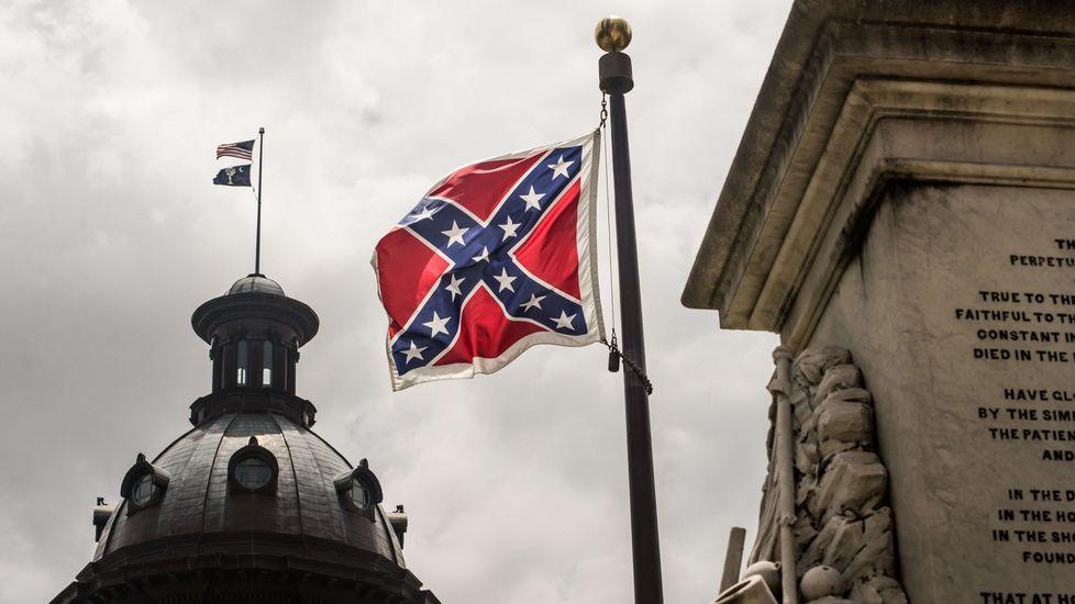 La bandera confederada será retirada hoy del mástil del Capitolio de Carolina del Sur.